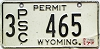 1977 Wyoming PSC Permit #465, Sheridan County