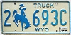 1977 Wyoming Truck #693C, Laramie County