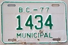 1977 British Columbia Municipal # 1434