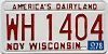 1978 Wisconsin #WH1404