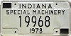 1978 Indiana Special Machinery # 19968