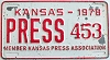 1978 Kansas Press Car # 453
