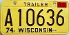 1978 Wisconsin Trailer # A 10636