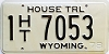 1978 Wyoming House Trailer # 7053, Natrona County