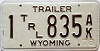 1978 Wyoming Trailer # 835, Natrona County