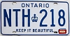 1979 Ontario # NTH-218