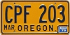 1979 Oregon #CPF-203