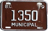 1979 British Columbia Municipal # 1350