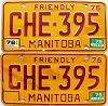 1979 Manitoba friendly pair # CHE-395