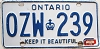 1979 Ontario Keep It Beautiful # OZW-239