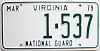 1979 Virginia National Guard # 1-537