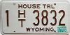 1979 Wyoming House Trailer # 3832, Natrona County