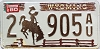 1980 Wyoming #905AU, Laramie County