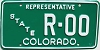 1980 Colorado State Representative Sample # R-00