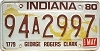 1980 Indiana George Rogers Clark graphic # 94A2997