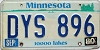 1980 Minnesota Lakes graphic # DYS-896