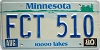 1980 Minnesota Lakes graphic # FCT-510