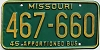 1980 Missouri Apportioned Bus # 467-660