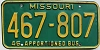1980 Missouri Apportioned Bus # 467-807