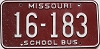 1980 Missouri School Bus # 16-183