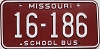 1980 Missouri School Bus # 16-186