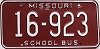 1980 Missouri School Bus # 16-923
