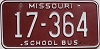 1980 Missouri School Bus # 17-364