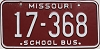 1980 Missouri School Bus # 17-368