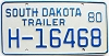 1980 South Dakota House Trailer # H-16468