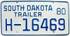 1980 South Dakota House Trailer # H-16469