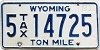 1981 Wyoming Ton Mile Tax #5-14725