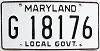 1981 Maryland Local Government # 18176