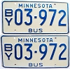 1981 Minnesota School Bus pair # 03-972