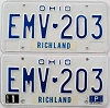 1981 Ohio pair # EMV-203