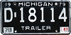 1982 Michigan Trailer #D-18114
