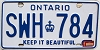 1982 Ontario # SWH-784