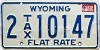 1982 Wyoming Flat Tax Rate #10147