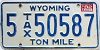1982 Wyoming Ton Mile Tax #5-50587
