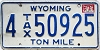 1982 Wyoming Ton Mile Tax #4-50925