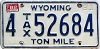 1982 Wyoming Ton Mile Tax #4-52684