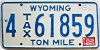 1982 Wyoming Ton Mile Tax #4-61859