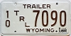 1982 Wyoming Trailer #7090, Fremont County