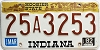1982 Indiana Hoosier graphic # 25A3253