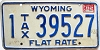 1982 Wyoming Flat Tax Rate # 39527, Natrona County