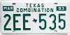 1983 Texas Combination # 2EE-535