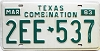 1983 Texas Combination # 2EE-537
