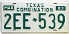 1983 Texas Combination # 2EE-539