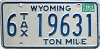 1983 Wyoming Ton Mile Tax #6-19631