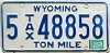 1983 Wyoming Ton Mile Tax #5-48858
