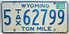 1983 Wyoming Ton Mile Tax #5-62799